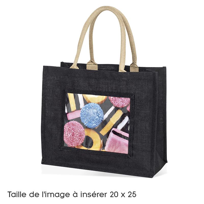 sac large toile de jute noir pour photo 20x25 imajs81 bk kodak ol9239 ol 39 optic opticien. Black Bedroom Furniture Sets. Home Design Ideas