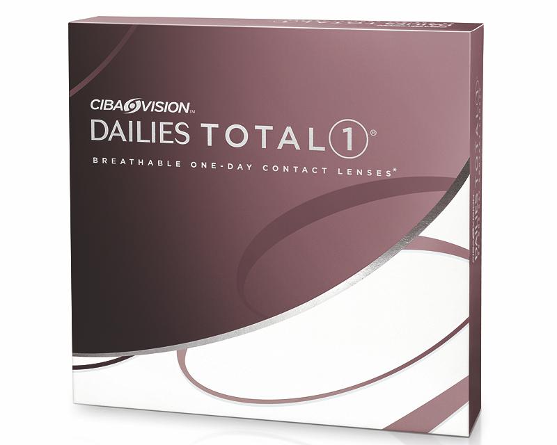 Lentilles de contact Ciba Vision journalière Dailies TOTAL 1 Boîte de 90  lentilles 882f107713af