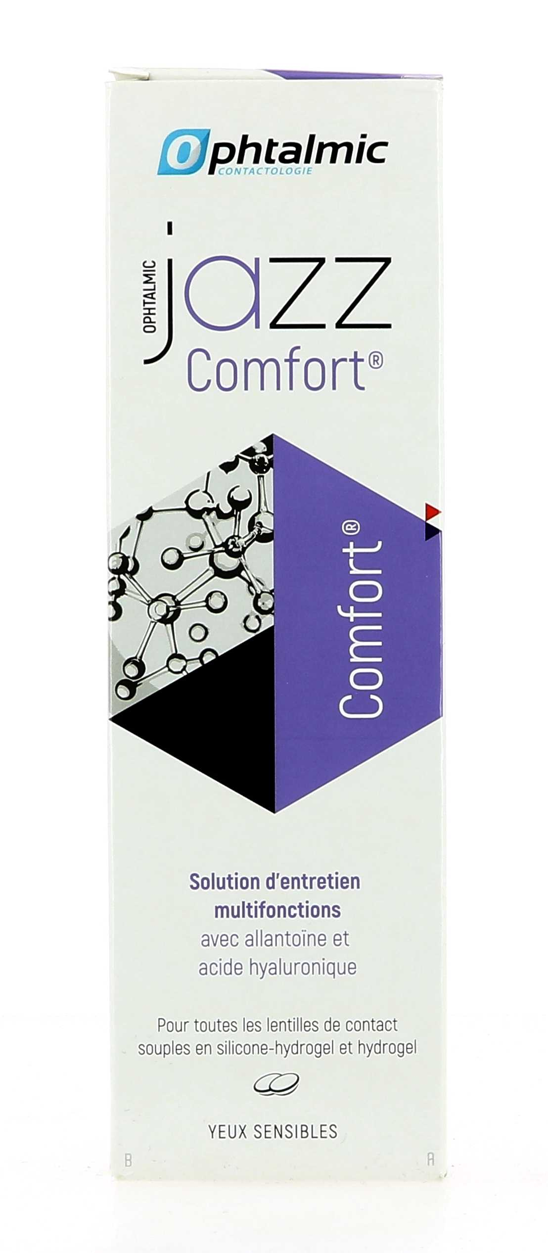 805947c011ddfa Produit d entretien lentilles Jazz Comfort 360 ml Ophtalmic OL12949 ...