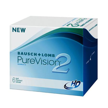 Lentilles de contact mensuelles PureVision 2 HD Baush   Lomb ... d474bde8efb9