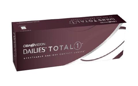 Lentilles de contact Ciba Vision journalière Dailies TOTAL 1 Boîte de 90  lentilles 0155abe1a4f0