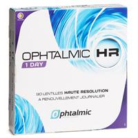 Lentilles journalières Ophtalmic HR 1 Day Progressive - Boîte de 90  lentilles b8b4153cfa8a