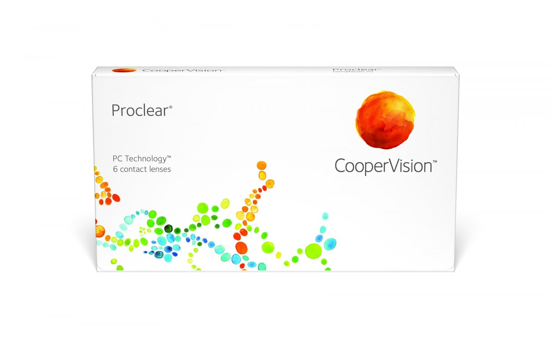 Lentilles de contact mensuelles Coopervision Proclear Boîte de 3 lentilles 68e996b73b35