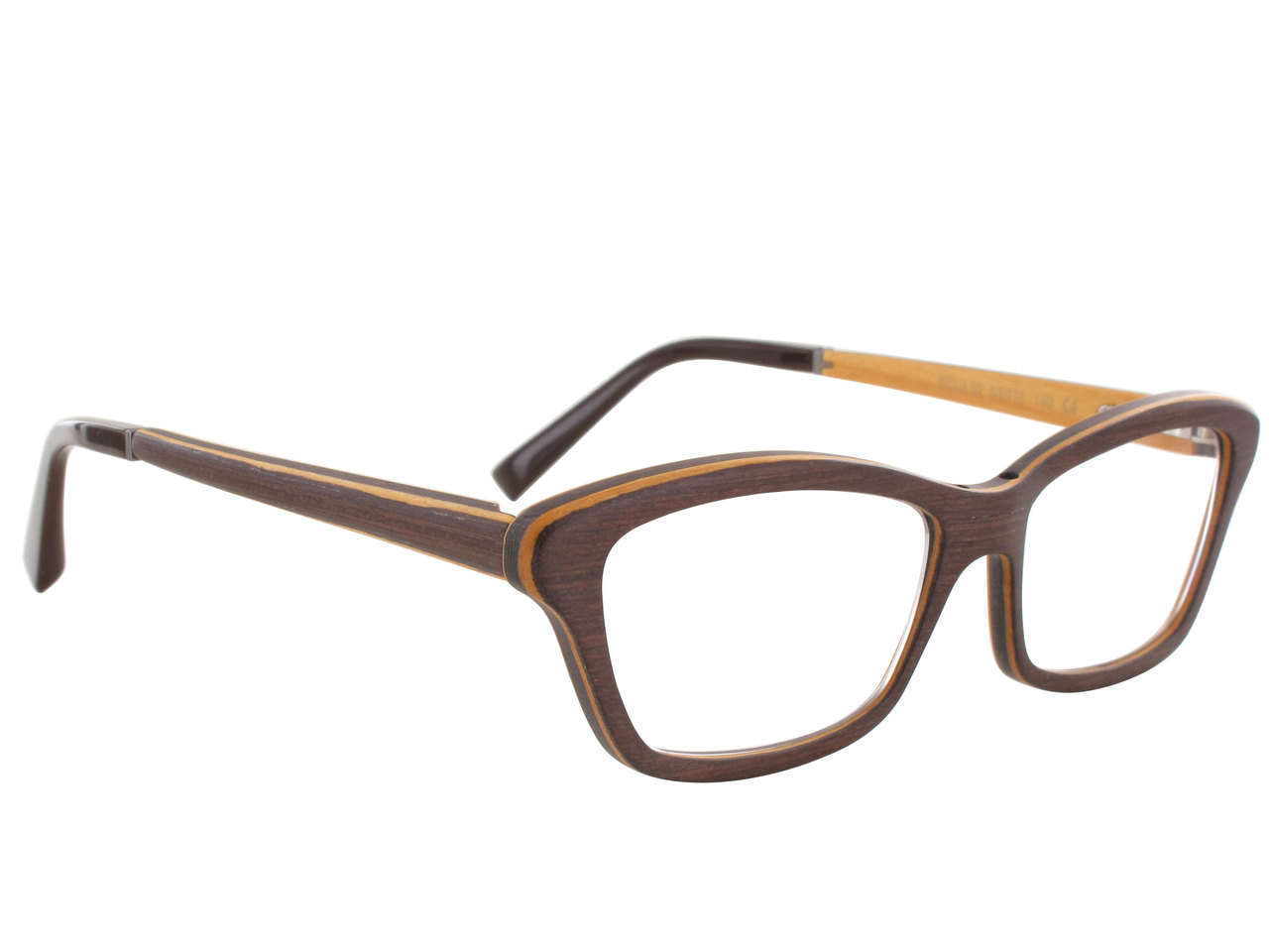 Lunettes en bois Gold and Wood Ecla 02 Taille 53 - 15 Gold   Wood ... 2f541716c388
